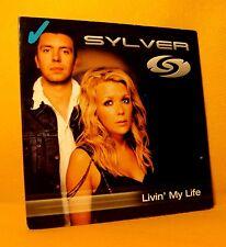 Cardsleeve single CD Sylver Livin' My Life 2TR 2003 Regi Milk Inc Belgium Trance