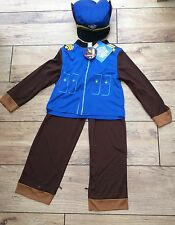 Nickelodeon Chase  Paw Patrol Dress-Up Costume Complete outfit Age 3/4 years