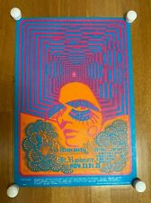 Avalon Ballroom Poster Big Brother/Holding Co Mt Rushmore/Family Dog Fd 93-1 '67