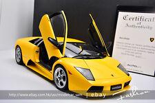 Autoart 1:12 lamborghini LP640 MURCIELAGO yellow