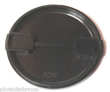 82mm Lens Cap - Plastic Snap-On - USED D14