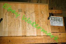 Wood Carving Piece Saint-Jean-Port-Joli Quebec Canada 1959 Kodak 35mm Slide