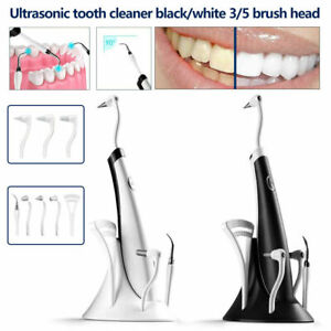 5 in 1 Tooth Polishing Cleaner Ultrasonic LED Electric Oral Teeth Cleaning Kit