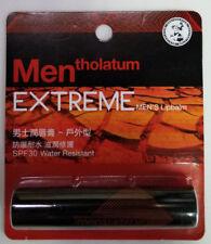 MENTHOLATUM MEN'S EXTREME Chapstick Relief Moisturizing Lip Balm SPF30