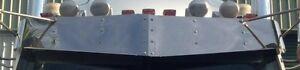 "Stainless Steel 14"" Drop Sun Visor To Suit Western Star Constellation Truck"