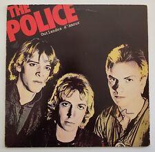 Sting Signed the Police Outlandos d'Amour Vinyl Record Album LP LEGEND RAD