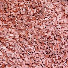 Ziegelsteine dunkelrot, Juweela 28029 12000 Stück, Normalformat, Maßstab 1:87