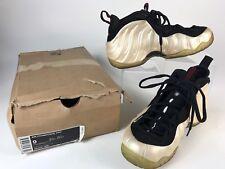 CLEAN Nike Air Foamposite Pro Pearl 2010 Size 9 624041-206 White Black