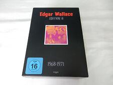 Edgar Wallace - Edition 8 - 1968-1971 auf DVD - Top Zustand !