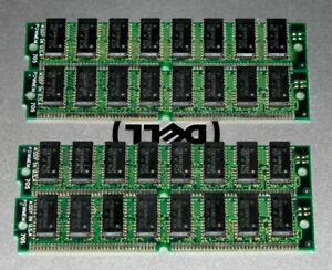 Various Retro 72-pin SIMM DRAM 5V EDO / FPM paired memory 64 / 32 / 16 / 8 / 4