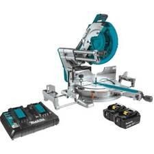 Makita Xsl08pt 18 Volt X2 Lxt Brushless Cordless Dual Sliding Miter Saw Kit