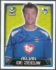 MERLIN-2004-F.A.PREMIER LEAGUE 04- #474-PORTSMOUTH-ARJAN DE ZEEUW