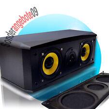 Regallautsprecher Dynavox TG1000B-C SCHWARZ Boxen Regalboxen Set 50Watt 8 Ohm