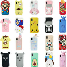 3D Cartoon Disney Cover Case For iPhone 11 Pro Max 11 XS Max XR XS 8 7 6 6S Plus