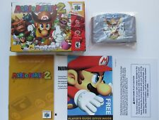 Mario Party 2 Nintendo 64 N64 Complete In Box CIB Authentic *MINT CART* Rare HTF