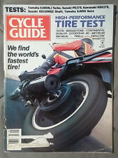 1982 SEPTEMBER CYCLE GUIDE MOTORCYCLE MAGAZINE GS100GZ XJ650 TURBO PE175 KDX175