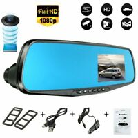1080P HD Car DVR Rearview Mirror Dash Cam Vehicle Camera Video Recorder