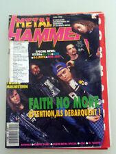 Metal Hammer #9 June 1990 Faith No More Yngwie Malmsteen Robert Plant Steelheart