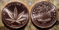 "United States 2011 ""Legalize It"" 1oz. Pure Copper Bullion Round!!"