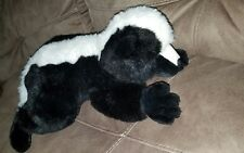 "PURR-FECTION MJC 1992  plush Vintage SKUNK  20"" Realistic animal wildlife EXC"