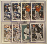 2020 Bowman (8) Card Lot Bichette, Alvarez, Robert, & Lux RC Hot!