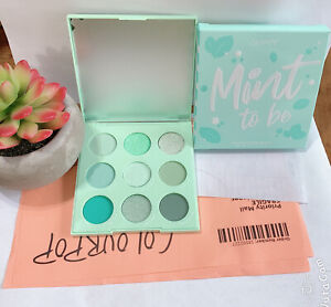 Colourpop Eyeshadow Palette in Mint To Be~Green~New In Box~Auth W/Receipt