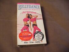"VHS - ""Bellydance"" (Fitness For Beginners) - NEW"