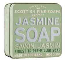 Jasmin Savon en Etain - The Scottish Fin savon Co