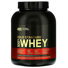Optimum Nutrition  Gold Standard 100  Whey  Double Rich Chocolate  5 lbs  2 27