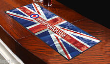 QUADROPHENIA MOD UNION JACK Bar Towel Runner Pub Mat Beer Cocktail Party Gift