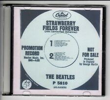 The Beatles CD - Beatles - Strawberry Fields Forever - Promotion Record