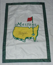 PHIL MICKELSON SIGNED AUTO'D MASTERS HOUSE FLAG PSA/DNA COA M08549 2004 CHAMP