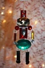 "Christmas Ornaments 4.5"" Toy Solider Acrylic Crystal Suncatcher by Ganz"