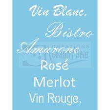 Stencil - Vive le Vin  -  Wines  - ST-036