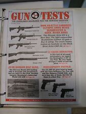 Gun Tests Magazine Oct 2006 9MM AR Style Rifles Hi-Cap Pistols / 12 Gauge Semi A