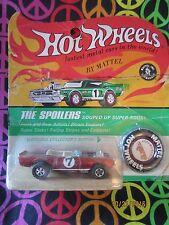 1967 Hot Wheels Redline Light My Firebird, Sealed, NIP. Blister Pack