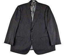 Pronto Uomo Couture Gray 2 button 2 Piece Men Suit Pants Size 44 Short 100% Wool