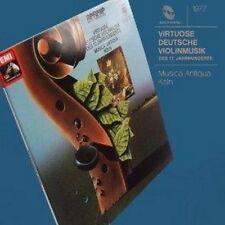 Reinhard Goebel - Virtuoso German String Music Of Xvii Cen (NEW CD)