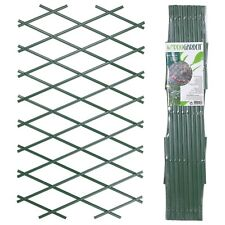 Expanding Green Plastic Wall Foldable Trellis Fence Climbing Plants Garden Decor
