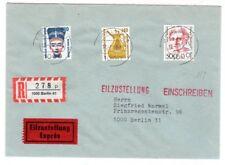 Einschreiben-Eilbote Orts-Brief mit  Mi.F. Mi.-Nr  830 ua