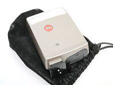 LEICA CF Blitzgerät Flash CF schönes kompaktes Blitzgerät + Beutel case