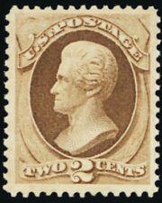 157, Mint 2¢ VF/XF Very Lightly Hinged Stamp Choice! - Stuart Katz