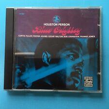 BLUE ODYSSEY - HOUSTON PERSON - 2000 CD Very Rare