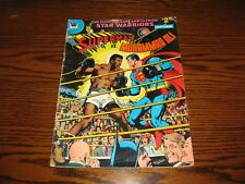 Whitman - SUPERMAN vs MUHAMMAD ALI - Treasury Edition!! Glossy VG+  1978
