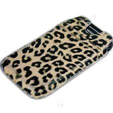 Etui Samsung Galaxy Ace 2 Leoparden-Optik Case Schutz Tasche Hülle ACE2 Leopard