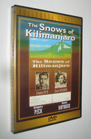 Henry King THE SNOWS OF KILIMANGIARO Le nevi del chilimangiaro 1952 dvd import