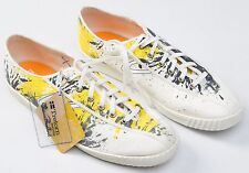 Men's Tretorn Canvas Graphic Print Sneakers Shoes Size Sz US 11 US11 NWOB New