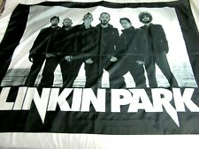 "Lincoln Park Rock Band Music Collectible Scarf Flag Italy 42"" x 30"""
