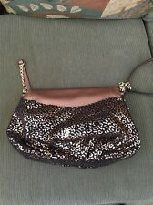 Juicy Couture  Flap Crossbody Bag Purse Copper Leopard