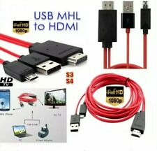 MHL Micro USB to HDMI Cable TV Out Lead 1080p fits for Samsung, Sony HTC & NOKIA